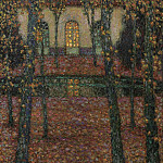 Картины с аукционов Sotheby's - Henri Le Sidaner - Trianon Pool in Autumn, 1937