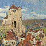 Sotheby's - Henri Martin - The Village of Saint-Cirq-Lapopie