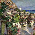 Sotheby's - Constantin Korovin - View from the Terrace, Gurzuf, 1912
