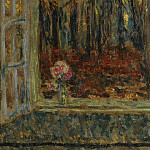 Sotheby's - Henri Le Sidaner - The Window in Autumn, 1916