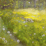 Marie Kroyer in the Garden at Skagen, 1892, Peder Severin Kroyer