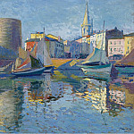 Sotheby's - Paul Madeline - La Roshelle - View on the Port by the Angle