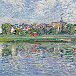 Sotheby's - Henri Lebasque - Lagny, the Banks of Marne, 1900