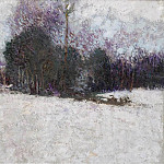 Sotheby's - Roderic OConnor - Snowy Landscape