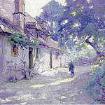 Sotheby's - Paul Madeline - Farms Yard, 1918