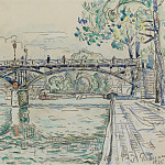 Sotheby's - Paul Signac - The Bridge of Arts, 1925