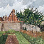 The Garden at Eragny, 1899, Camille Pissarro