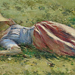 Sotheby's - Theodore Robinson - In the Sun, 1891