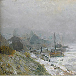Картины с аукционов Sotheby's - Albert Lebourg - The Seine in Winter, 1899