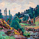 Картины с аукционов Sotheby's - Armand Guillaumin - The Mill of Jonon Creuse, 1906