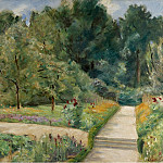 Sotheby's - Max Liebermann - The Garden in Wannsee to the West, 1921