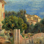 Картины с аукционов Sotheby's - Pierre Auguste Renoir - The Artists House in Cagnes