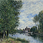 Sotheby's - Alfred Sisley - The Summer in Moret, 1888
