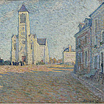 Church in the Village, Henri Lebasque