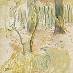 The Thicket, 1894, Berthe Morisot