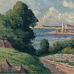 Sotheby's - Maximilien Luce - The Estuary of Trieux 01