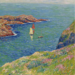 Картины с аукционов Sotheby's - Henry Moret - The Isle of Ouessant