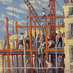 Sotheby's - Maximilien Luce - The Scaffolding, 1910