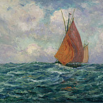 Sotheby's - Maxime Maufra - Fishing Boat at the Sea, 1907