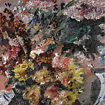 Картины с аукционов Sotheby's - Lovis Corinth - Flowers in a Bronze Bucket, 1923