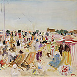 Sotheby's - Lucien Adrion - The Beach, 1929