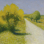 Sotheby's - Achille Lauge - The Road near Cailhau