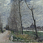 Sotheby's - Alfred Sisley - View of Moret-sur-Loing, 1890