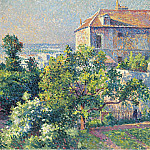 Sotheby's - Maximilien Luce - Montmartre, the House of Suzanne Valadon, 1895