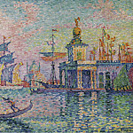 Sotheby's - Paul Signac - Venice, Custom-House, 1908