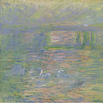 Картины с аукционов Sotheby's - Claude Monet - Charing Cross Bridge, 1899-1901