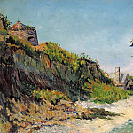 Картины с аукционов Sotheby's - Paul Signac - Port-en-Bessin, the Beach, 1883