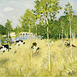 Sotheby's - Pierre-Eugene Montezin - Cows on the Meadow