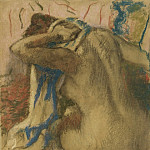 Woman Drying Her Hair, 1885, Edgar Degas