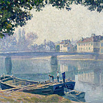 Banks of the Marne, 1907, Анри Лебаск