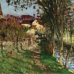 Sotheby's - Pierre-Eugene Montezin - The Evening at Saint-Germain-sur-Avre