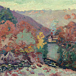 Sotheby's - Armand Guillaumin - Landscape of the Creuse, the Passion, 1910