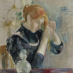 Картины с аукционов Sotheby's - Berthe Morisot - By the Toilette