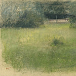 The Lawn and the Undergrowth, 1890-93, Edgar Degas