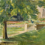 Картины с аукционов Sotheby's - Max Liebermann - House and Terrace to the Southwest, 1923