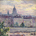 Sotheby's - Maximilien Luce - Paris, Boards of the Seine, the House of Invalids, 1910