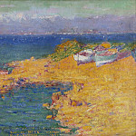 Sotheby's - John Peter Russell - The bay of Nice, 1891