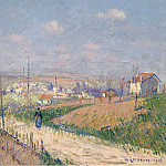 Картины с аукционов Sotheby's - Gustave Loiseau - The Spring at Ile-de-France, 1916