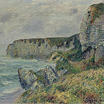 Картины с аукционов Sotheby's - Gustave Loiseau - The Cliffs of Saint-Jouin, 1908 01