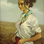 Sotheby's - Marcel Dyf - Young Woman of the Camargue