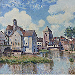 Sotheby's - Alfred Sisley - Moret-sur-Loing, 1891