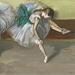 Resting Dancer, 1879, Edgar Degas