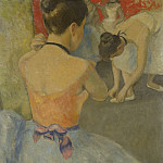 Картины с аукционов Sotheby's - Francois Gall - Eugenie, the ballerine from Back before the Dance, 1965-70