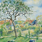 Sotheby's - Georges Manzana-Pissarro - Apple Trees in Bloom, 1953