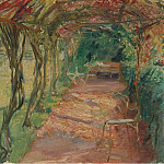Under an Arbour, 1901, Max Slevogt