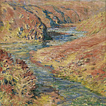 Sotheby's - Claude Monet - The Valley of the Creuse at Fresselines, 1889